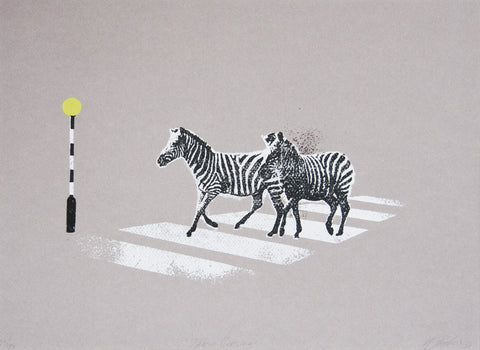 Zebra Crossing, Katie Edwards