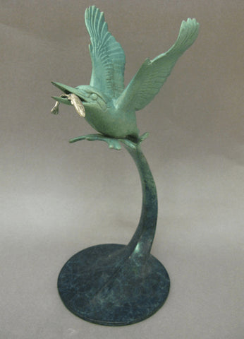 Kingfisher with Fish, David Meredith - CultureLabel
