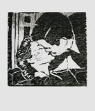 Kiss (Woodblock Print), Dan McDermott - CultureLabel - 1