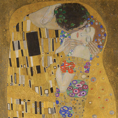 The Kiss, Gustav Klimt Alternate View