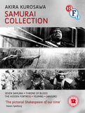 Front of Akira Kurosawa's DVD Samurai Collection