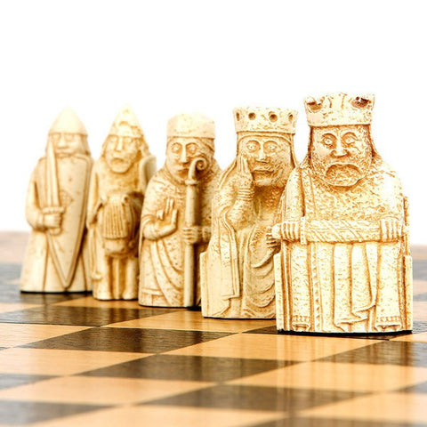 Lewis Chessmen Chess Set - Standard, National Museum of Scotland Alternate View