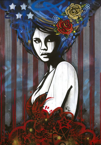 American Princess (Stars and Stripes), Copyright - CultureLabel