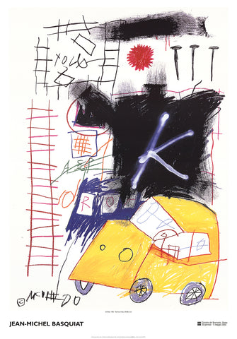 Untitled (Car), Jean-Michel Basquiat