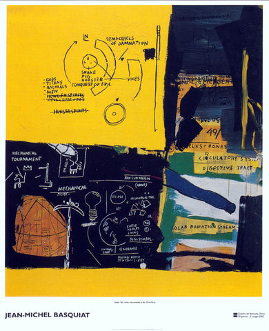 Untitled (Solar), Jean-Michel Basquiat