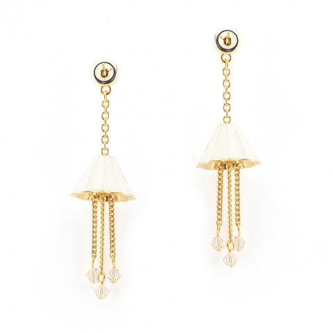 Lamp Earrings, The Geffrye Museum