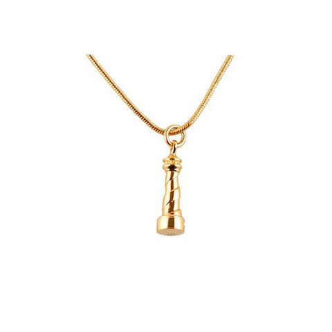 Gold Lighthouse Pendant, Roz Buehrlen - CultureLabel - 1