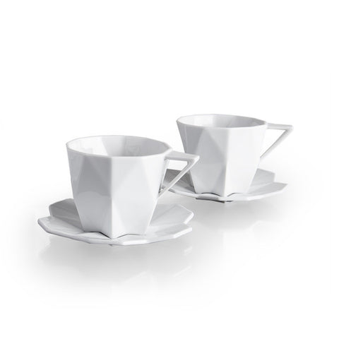 Lilia Tea Cup and Saucer, Lauriger Alternate View