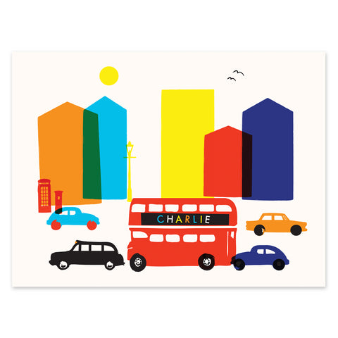 London (Personalized Print), Ruka-Ruka