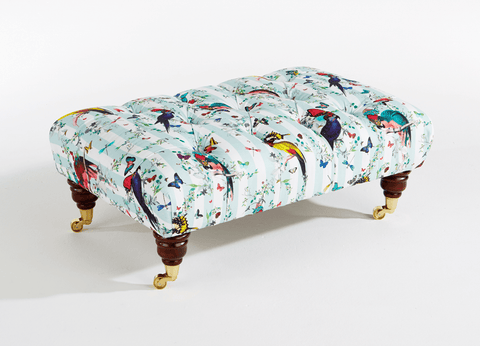 Long Chesterfield Footstool, Kristjana S Williams - CultureLabel - 1