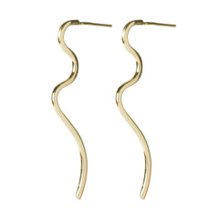 Loop Long Earrings, Dorota Todd