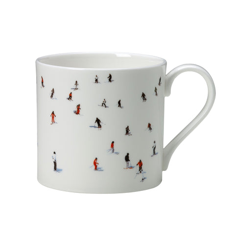 Skiers Mug, Large, Dede Johnston - CultureLabel - 1