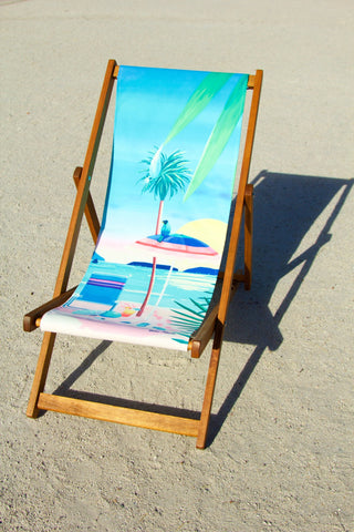 California Dreaming Deckchair, Yoko Honda - CultureLabel