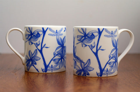 English Garden Mug Set, Camilla Meijer - CultureLabel