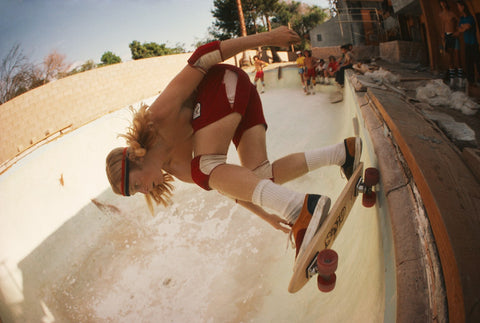 Stacy Peralta Ripping at Coldwater Canyon Pool, Hugh Holland - CultureLabel