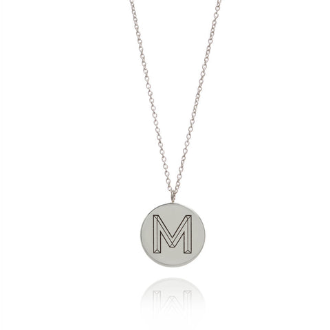 Facett Initial Necklace - Personalised, Myia Bonner