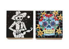 Juan and Skull Coaster Set, Juan is Dead