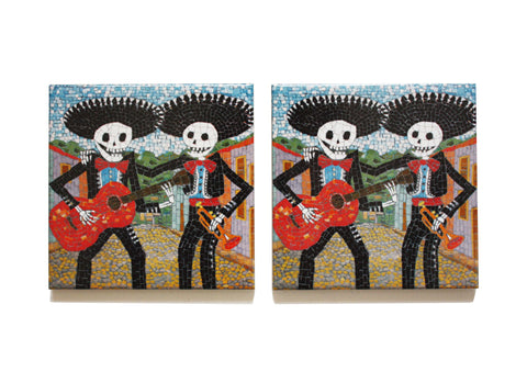 Mariachi Coaster Set, Juan is Dead - CultureLabel - 1
