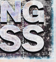 A Point Suspended in Nothingness, Mark Titchner Alternate View