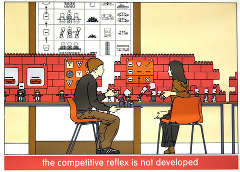 The Competitve Reflex Is Not Developed, Chad McCail - CultureLabel