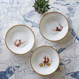 Trapeze Girl Bone China Bowl, Melody Rose - CultureLabel - 2