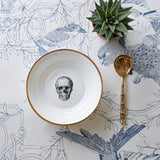 Skull Bone China Bowl, Melody Rose - CultureLabel