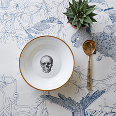 Skull Bone China Bowl, Melody Rose