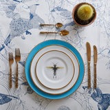 Blue Dragonflies Dinner Plate, Melody Rose - CultureLabel - 3