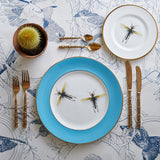 Blue Dragonflies Dinner Plate, Melody Rose - CultureLabel - 2