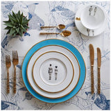 Models Coloured Dinner Plate, Melody Rose - CultureLabel