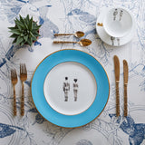 Models Coloured Dinner Plate, Melody Rose - CultureLabel - 1