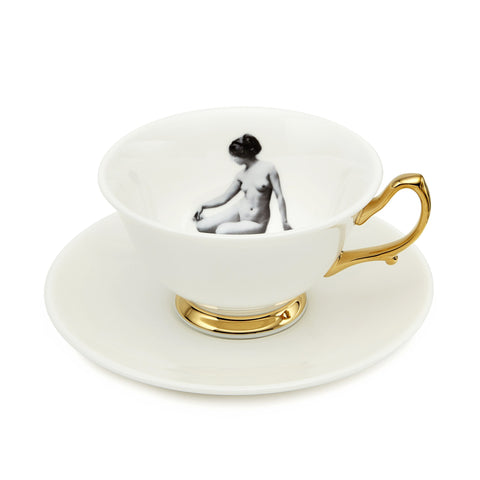 Girl in a Cup Teacup Set of Two, Melody Rose