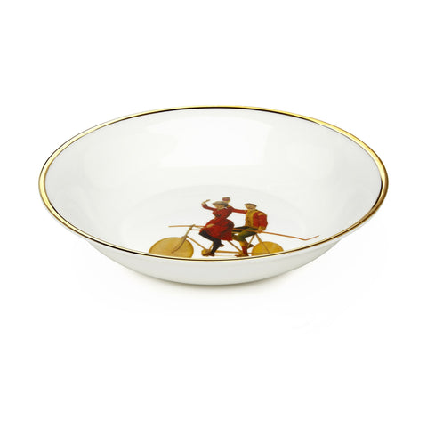 High Wire Bone China Bowl, Melody Rose