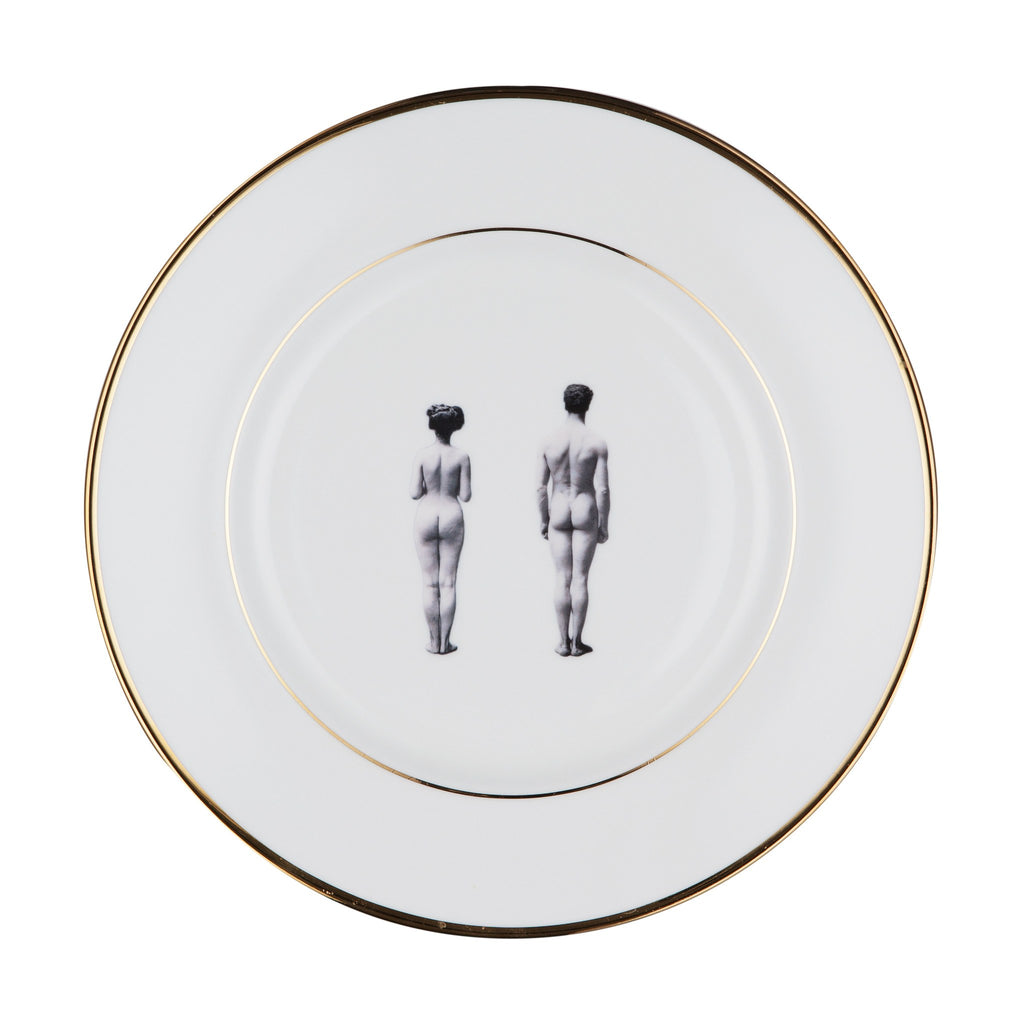 The Models Bone China Plate, Melody Rose - CultureLabel - 1