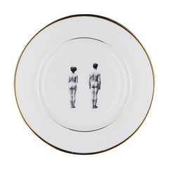 The Models Bone China Plate, Melody Rose