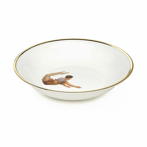 Trapeze Boy Bone China Bowl, Melody Rose - CultureLabel - 1