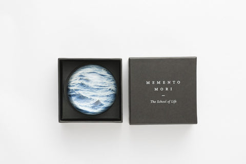 Memento Mori Paperweight: Sea, The School of Life Alternate View