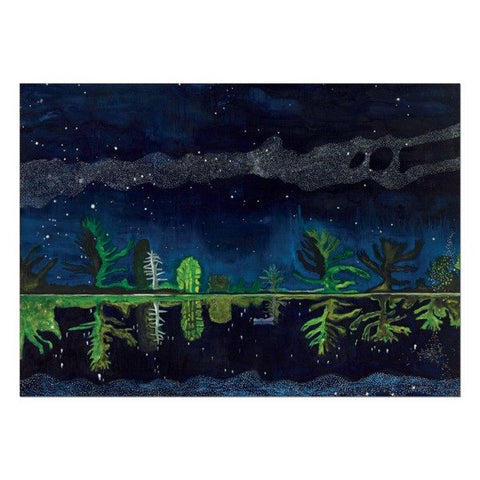 Milky Way Peter Doig Christmas Card Pack (10 cards), National Galleries of Scotland