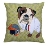 Molly McQueen The Bulldog Cushion, Mia Loves Jay - CultureLabel