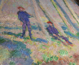 Jean-Pierre Hoschede and Michel Monet on the Banks of the Epte by Claude Monet 3d Reproduction, Verus Art - CultureLabel - 2