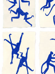 Blue Monkeys After Matisse, Holly Frean Alternate View