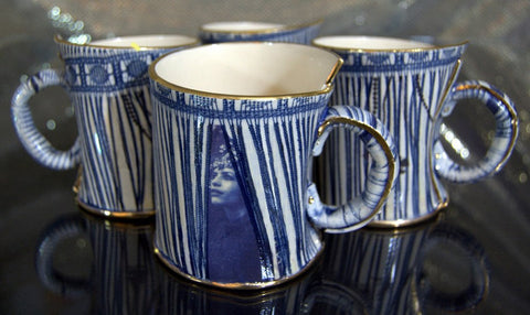 Limited Edition Set of 4 Mugs, Vanessa Conyers