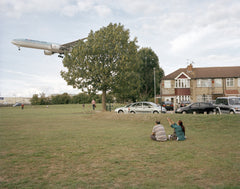 Myrtle Avenue Picnic, Southern Runway Heathrow Airport, Hounslow, Philipp Ebeling