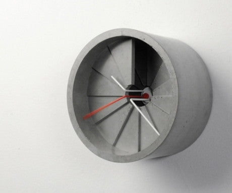 Concrete Wall Clock, Studio 22 - CultureLabel