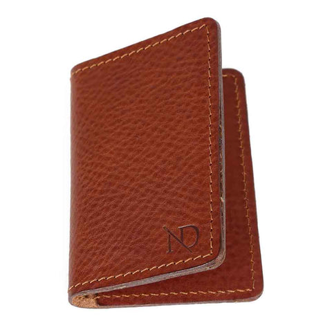 Bishopsgate Tan Card Holder, N