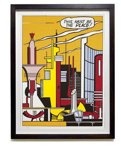 This Must Be the Place, Roy Lichtenstein