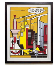 This Must Be the Place, Roy Lichtenstein Alternate View