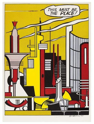 This Must Be the Place, Roy Lichtenstein - CultureLabel