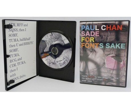Sade for Fonts Sake CD (Deluxe Edition),Paul Chan - CultureLabel - 1