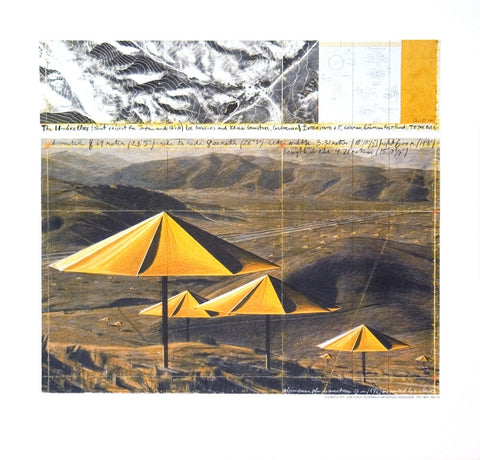 The Yellow Umbrellas, Javacheff Christo